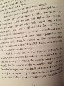 A excerpt from Close to the Machine, by Ellen Ullman, written 17 years ago but strangely prescient.